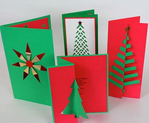 Ashbee Design Diy Christmas Cards Pierced Designs