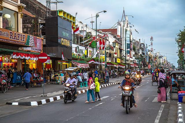 Malioboro - Tempat Wisata di Yogyakarta