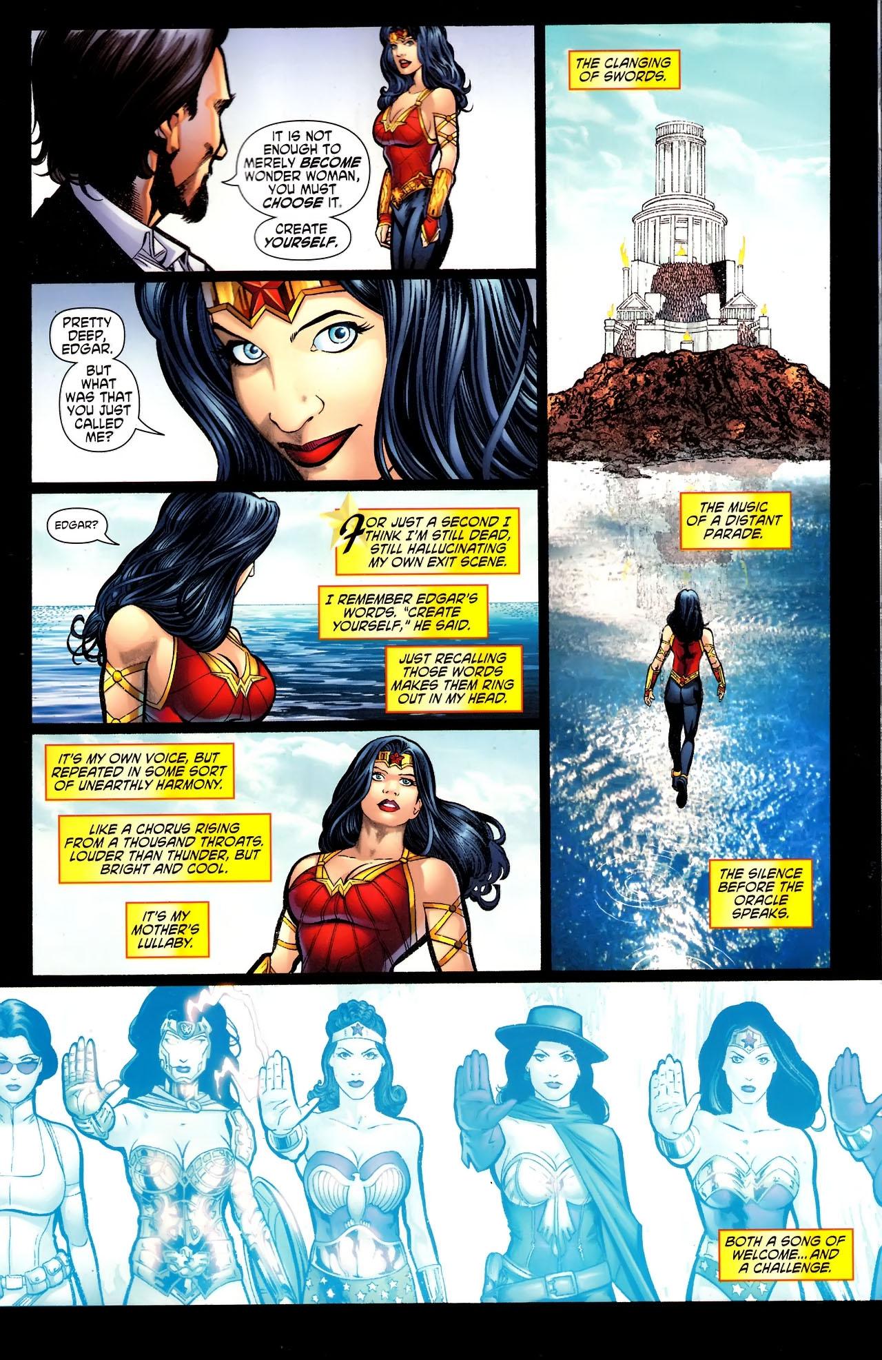 Read online Wonder Woman (2006) comic -  Issue #609 - 15