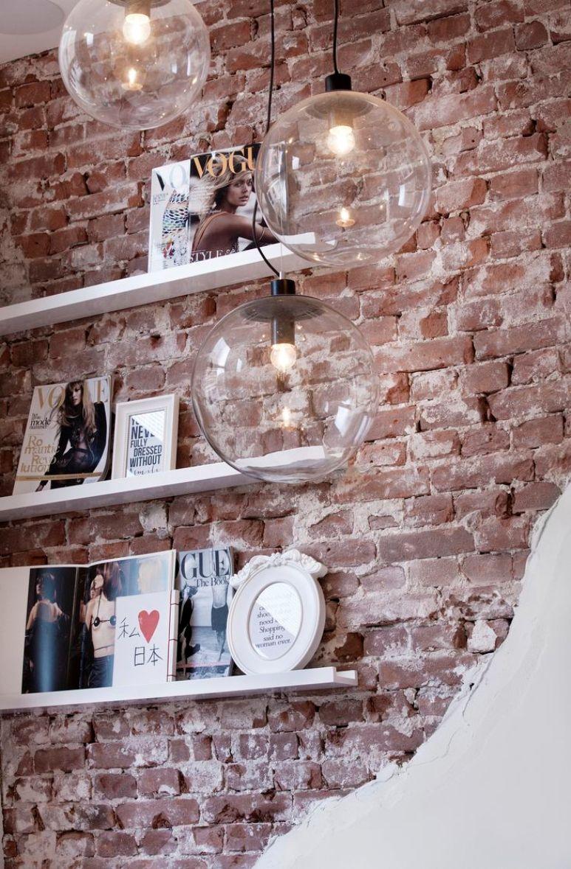 Antic chic decoraci n vintage y eco chic negocios bonitos una tienda de ropa de lo m s coqueta - Wanddeko steinwand ...