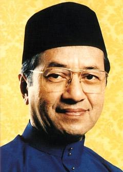 Perdana Menteri keempat Tun Dr Mahathir Mohamad