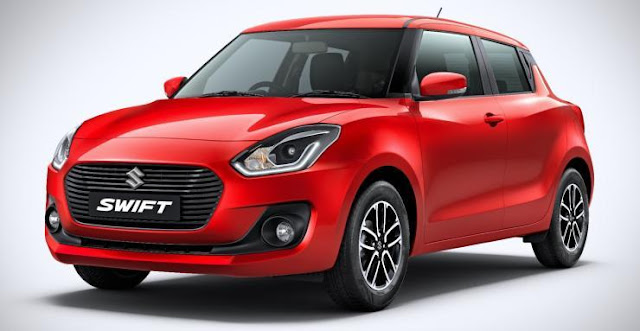 New 2018 maruti suzuki swift Red hd image