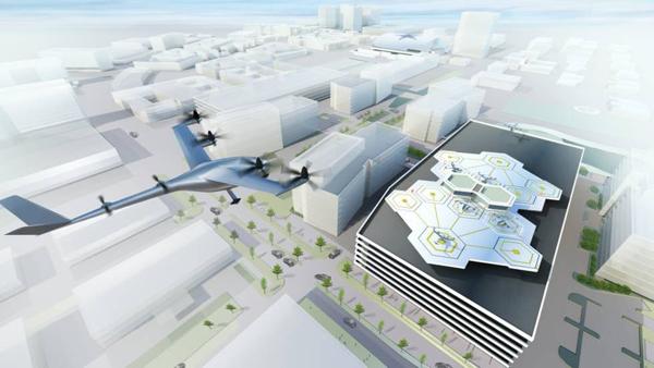 Uber creará en París un centro para los coches voladores eléctricos