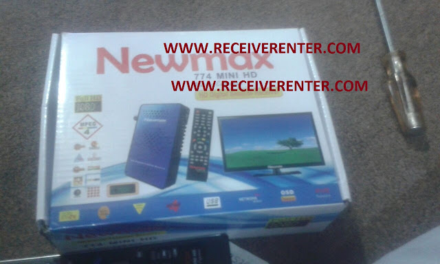 NEWMAX 774 MINI HD RECEIVER BISS KEY OPTION