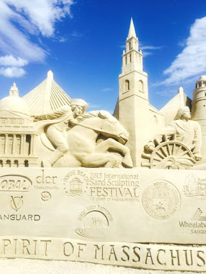Revere Beach International Sand Sculpting Festival