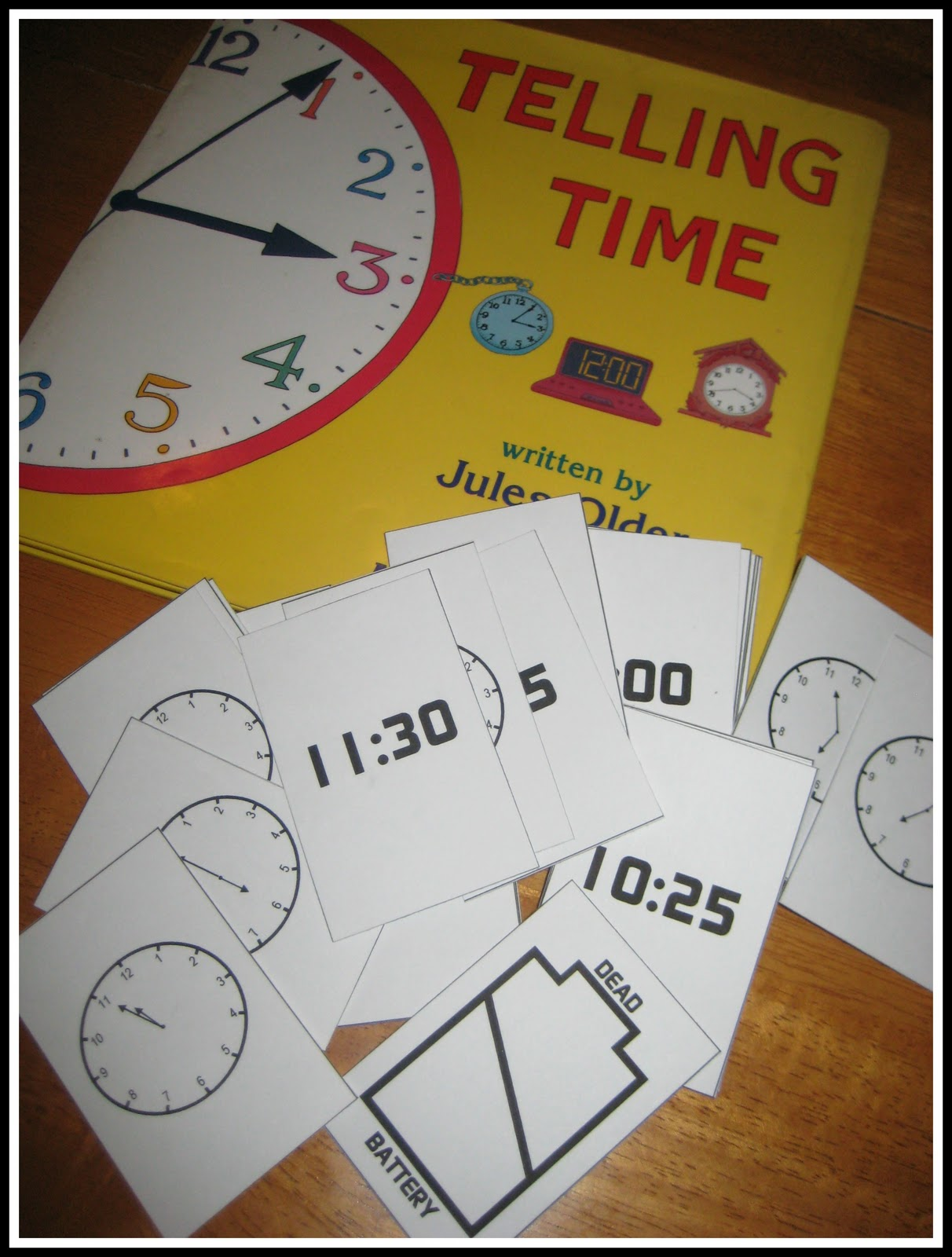 Relentlessly Fun Deceptively Educational Telling Time
