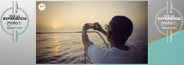 [Sorteo] Gana smartphones, vales de compras, paseo en parapente y más - Experiencia Moto Z Play
