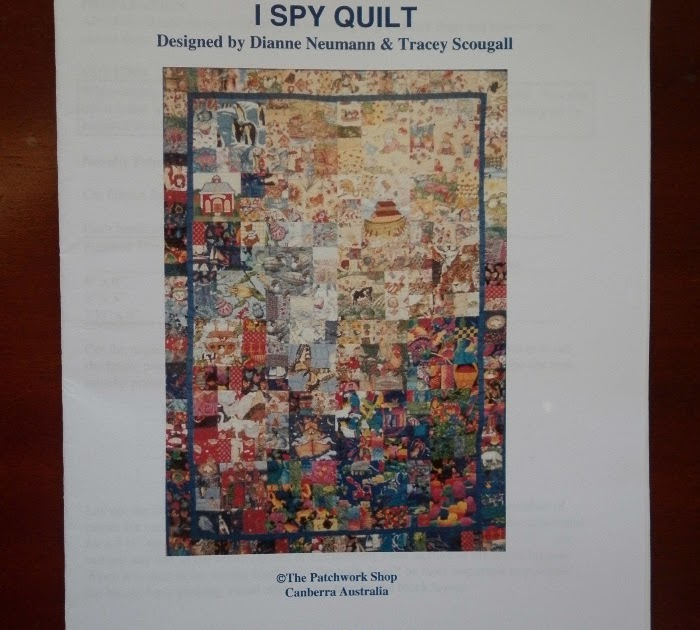 I Spy Quilts An Australian I Spy Quilt Pattern