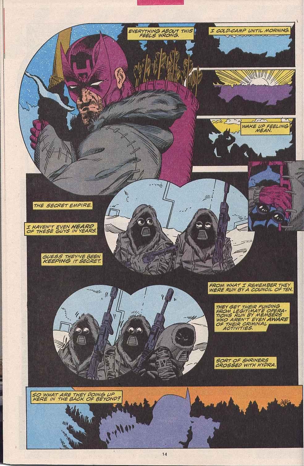 Hawkeye (1994) Issue #1 #1 - English 11