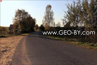 Налибокская пуща. Деревня Пруды. Дорога Н9758