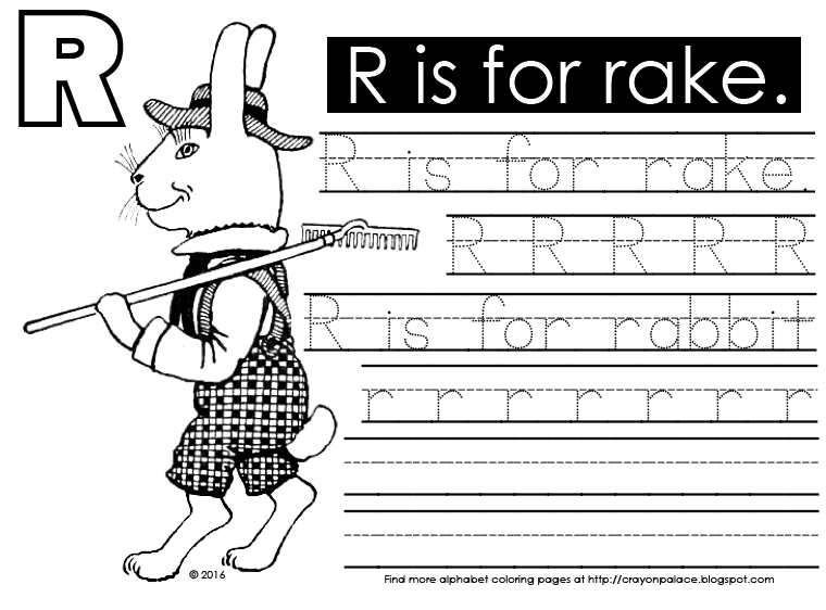 Rake Coloring Page. fall coloring pages simple fun for kids. autumn ...