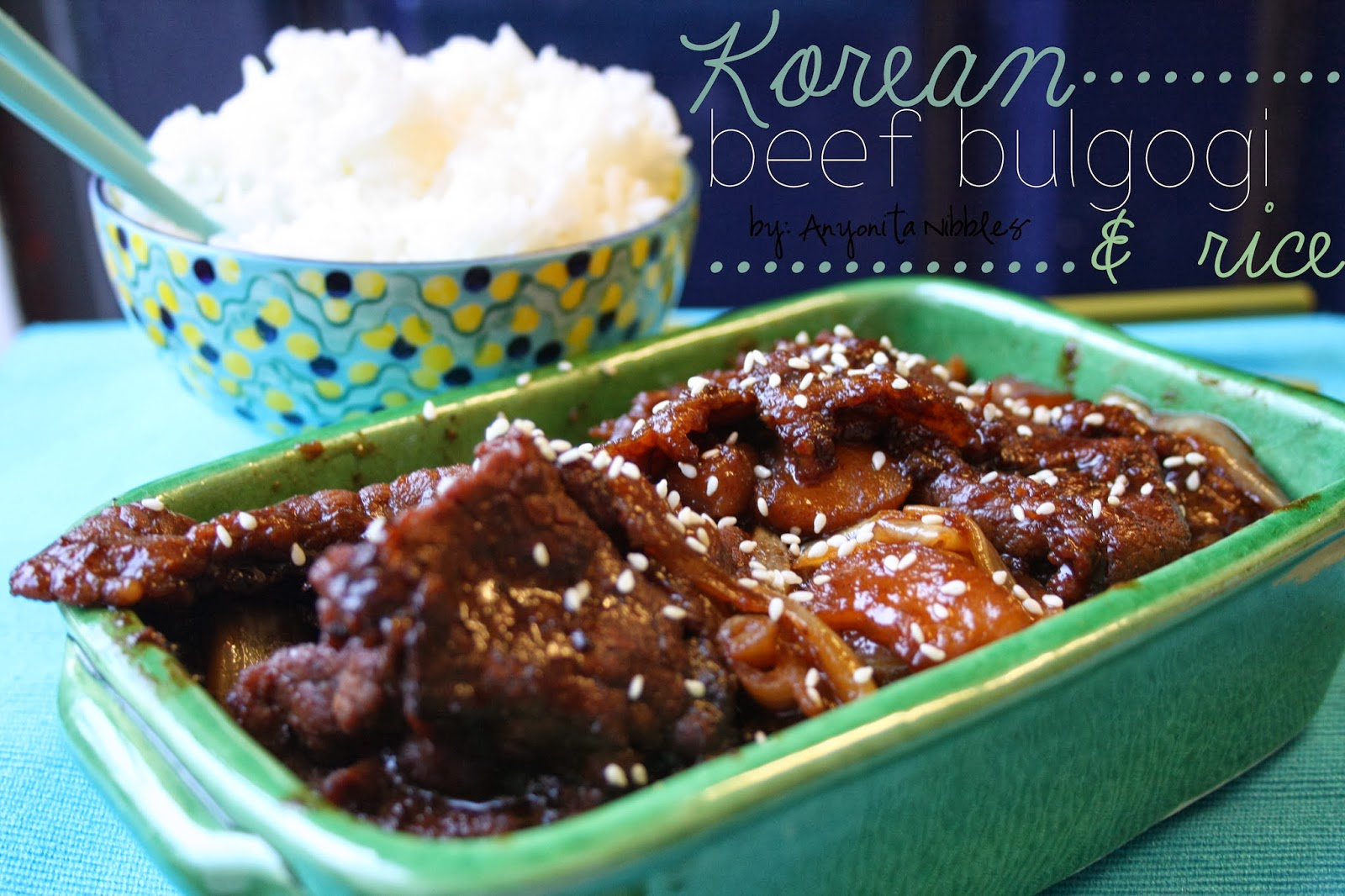 Korean Beef Bulgogi & Rice