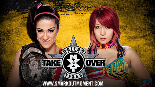 WWE NXT TakeOver: Dallas Bayley vs Asuka