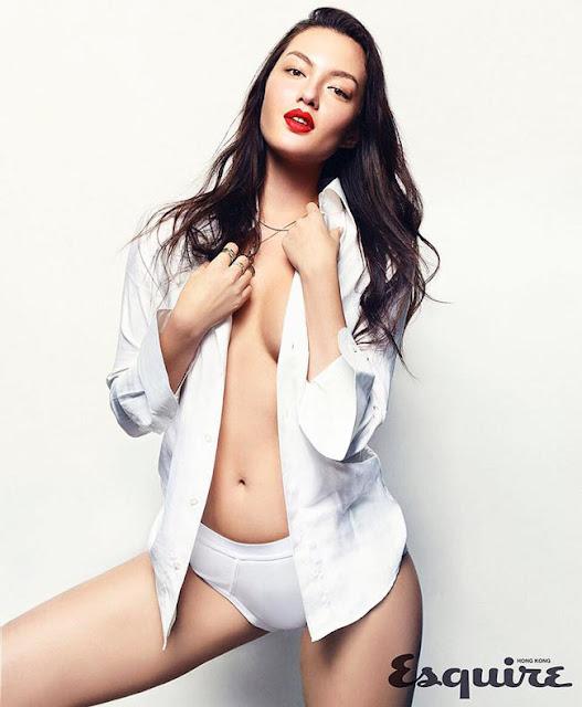 Hot girls Mia Kang so sexy mix hongkong model 2