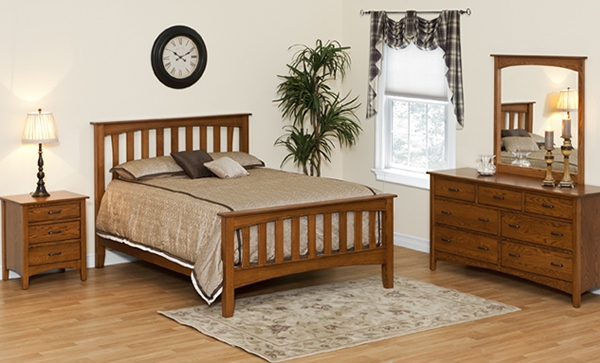 Furnitur kayu tempat tidur terbaik minimalis