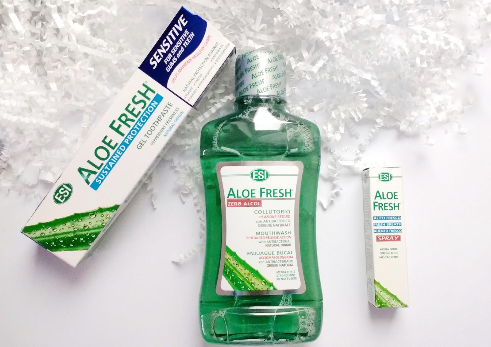 Aloe Fresh | Naturalne produkty z aloesem | Higiena jamy ustnej