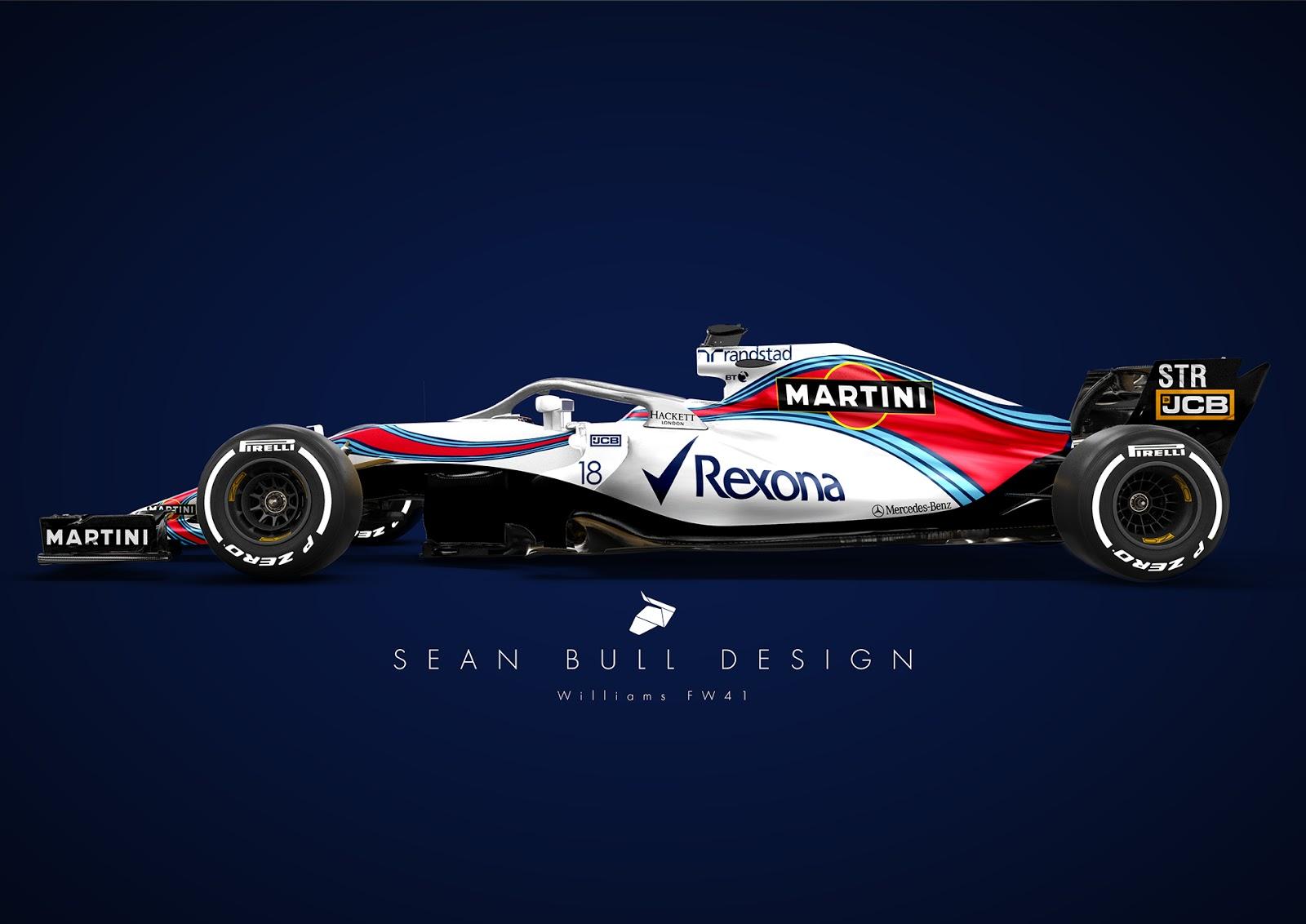 New F Car  Williams