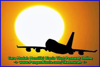 memulai usaha tiket pesawat online
