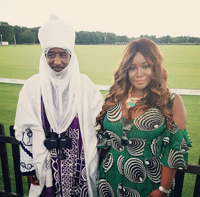 Photos: Emir of Kano Muhammadu Sanusi II steps out in style in London