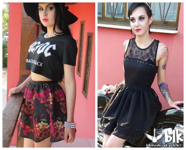 BLK Moda Rock, Loja Online, Uma Garota Chamada Sam