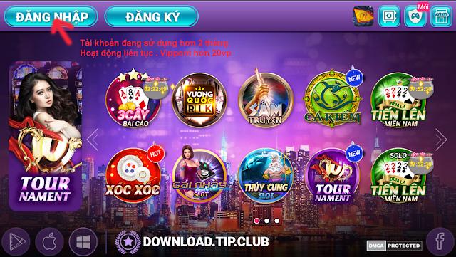 tip.club cổng game bài rikvip trở lại