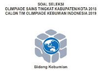 Soal OSK Kebumian 2018 dan Kunci Jawaban