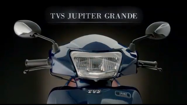 New 2018 TVS Jupiter Grande Front Headlamp