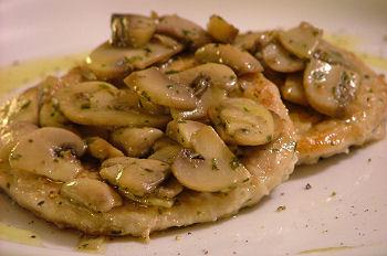 La cucina di fanny scaloppine ai funghi for Secondi di carne