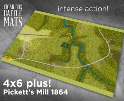 Pickett' Mill, May 27, 1864 ADF 6X4 Plus #223