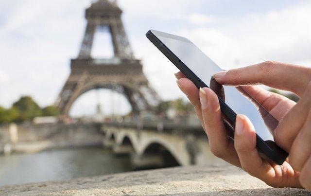 Como usar o celular à vontade em Paris e na França