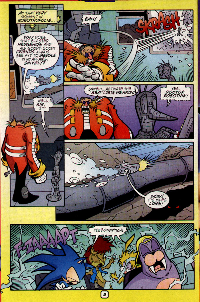 Read online Sonic The Hedgehog comic -  Issue #109 - 7