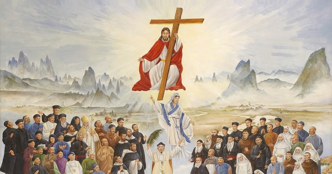 Martyr Saints of China