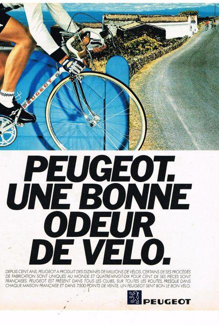 Le vélo, c'est aussi de bonnes odeurs.