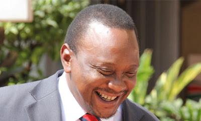 President Uhuru Kenyatta Blushes After Lady Declares Her Love For Him (VIDEO)