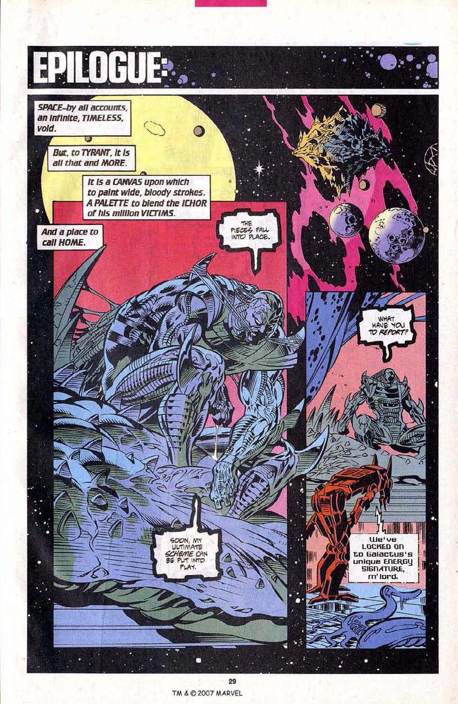 Read online Silver Surfer (1987) comic -  Issue #102 - 31