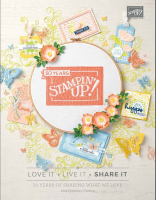 Stampin' Up! Occasions 2019 catalog download