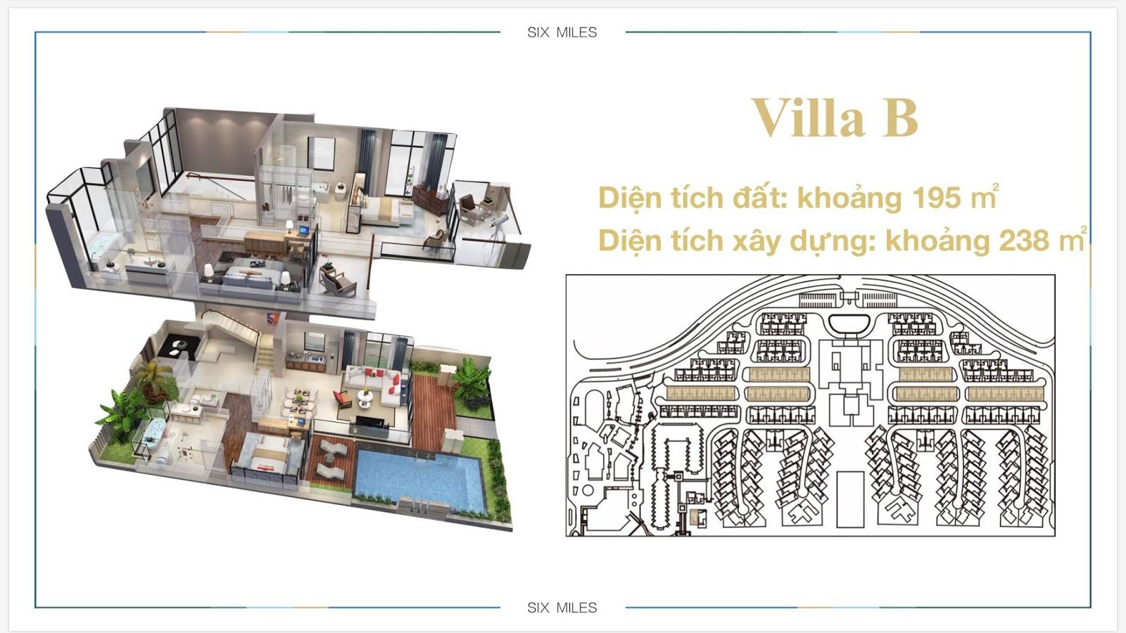Mẫu Villa B