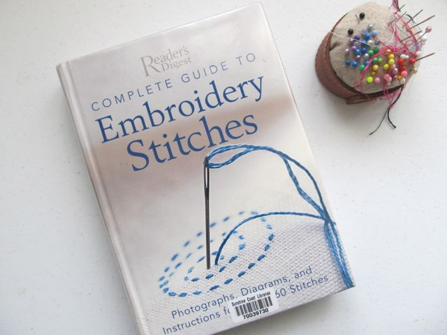 SweaterDoll U0026 Embroidery School Book Review - Readeru0026#39;s Digest Embroidery Stitches