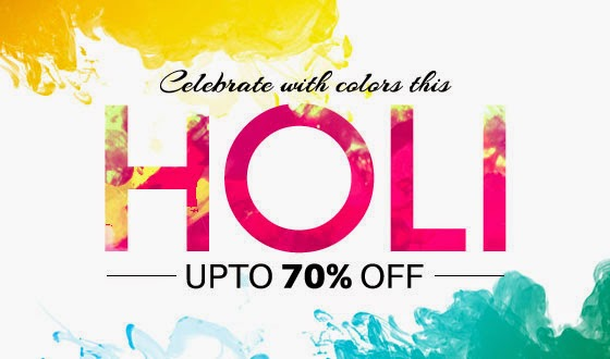 Holi Offers 2015 – Holi Deals, Gifts on Sale, Shopping