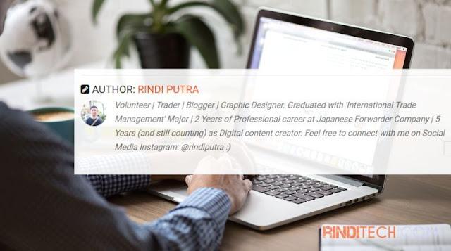 Cara Menampilkan Profile Author (penulis) di Blogger