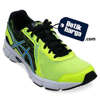 Asics Gel Impression 8 Sepatu Lari Pria - Flash Yellow Electric Blue Hitam