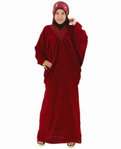Contoh desain baju muslim untuk orang gemuk