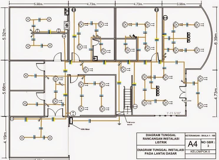 Diagram Contoh Wiring Diagram Instalasi Listrik Rumah Full Version Hd Quality Listrik Rumah Workdiagram Physalisweddings Fr