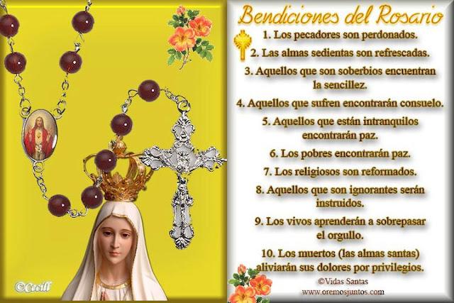 Resultado de imagen de mes de octubre mes del santo rosario Misterios Gozosos