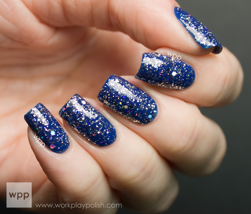 ellagee Fly Me to the Moon over China Glaze Manhunt
