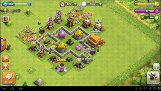 Strategi Clash Of Clans Town Hall Level 3