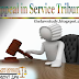 Appeal in Service Tribunal