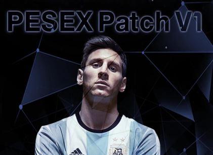 PES 2013 PESEX Patch V1 New Season 2016/2017