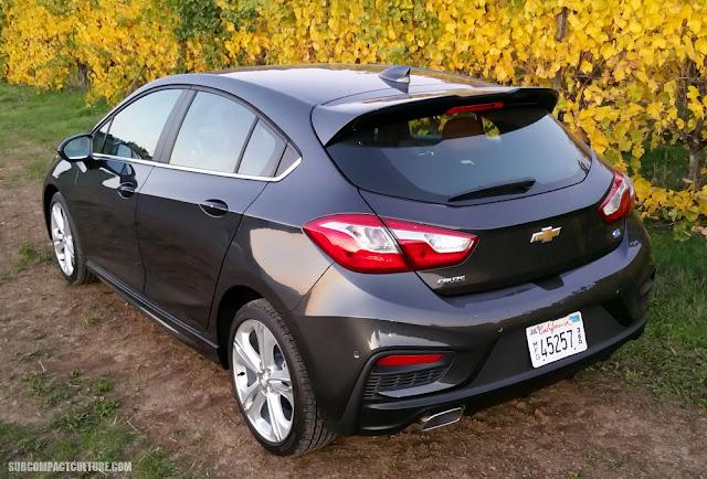2018 Chevrolet Cruze Diesel rear