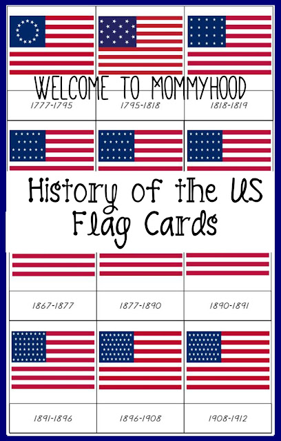 FREE Fourth of July and United States themed Montessori printables pack by Welcome to Mommyhood! #montessoriactivites, #montessori, #toddleractivities, #freeprintables